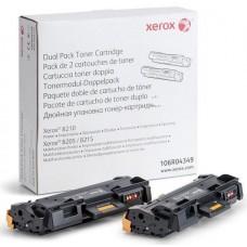 Картридж (двойная упаковка) XEROX 106R04349, черный